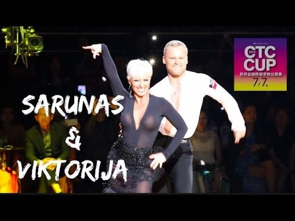 Sarunas Greblikas - Viktorija Horeva (LVA) CTC Cup 2018 WDC Pro Samba Dance On
