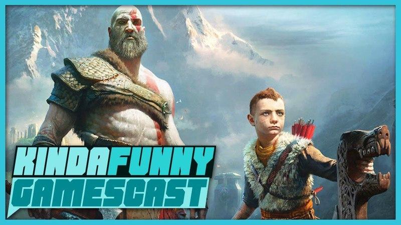 The Future of God of War (wDirector Cory Barlog) - Kinda Funny Gamescast Ep. 164