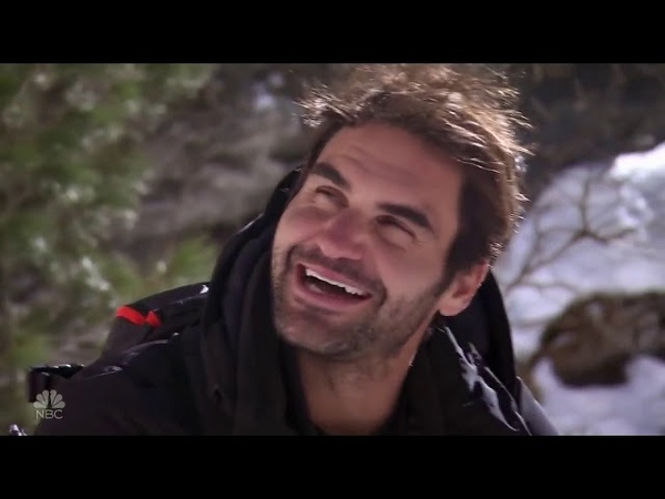 Running Wild with Bear Grylls - Roger Federer