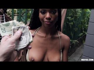 Nia nacci [ throated porn dick cock street blowjob public sex whore black ebony