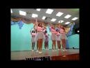 Гимнастический танец в школе под песню Время и Стекло - На Стиле