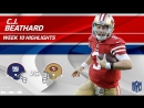 C.J. Beathard Gets 303 Total Yards  3 TDs to Help Defeat NY! - Giants vs. 49ers - Wk 10 Player Highlights