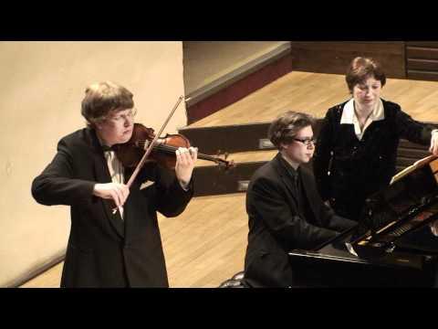 Josef Suk - 4 Pieces for Violin and Piano, Op.17 / Čtyři kusy pro housle a klavír