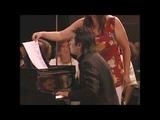Daniel Barenboim &amp Lang Lang Mozart K448 sonata for two pianos