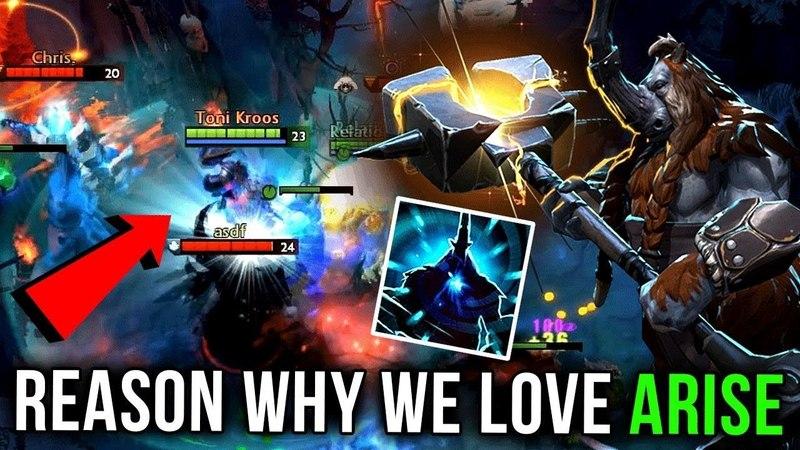 Reason Why we Love Ar1Se- Magnus - Dota 2 Gameplay Compilation