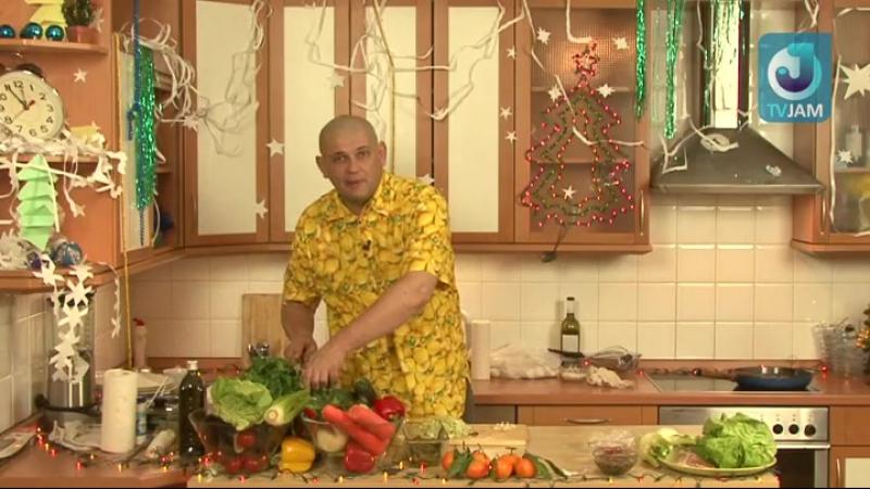2010-12-27 - Новогодний салат с печенью и сыром