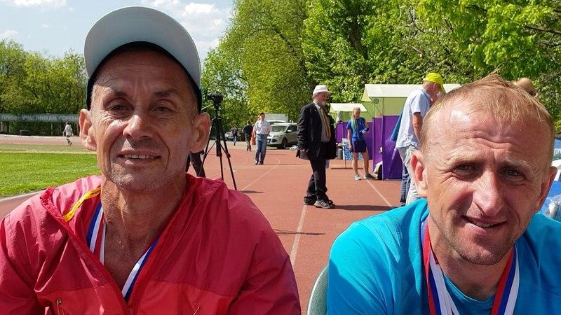 Интервью: Константин Чекулов — победитель и Юрий Галкин — 3 место чемпионата России по 24-часовому бегу