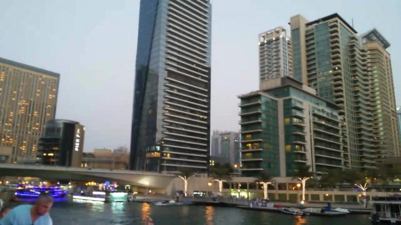 Дубай 2017 Марина