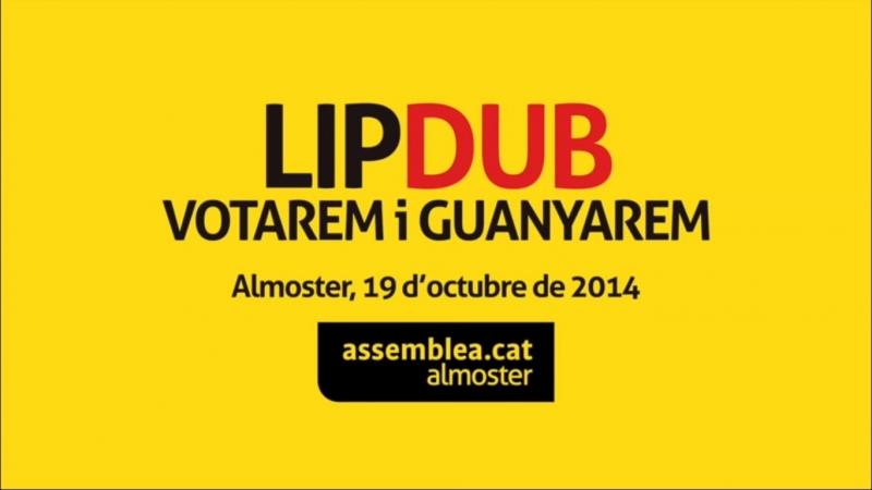 Lipdub Votarem i guanyarem Almoster 19 10 2014