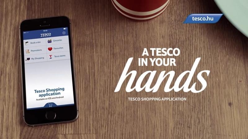 Tesco Shopping App– Launch Commercial