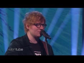Ed Sheerans Perfect телешоу Эллен Дедженерес  01 12 2017  Бербанк, США.