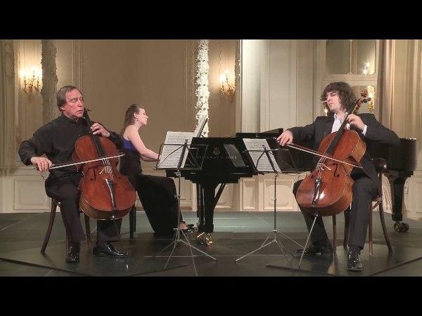 Sergey Roldugin (cello), Aleksander Ramm (cello) in St. Petersburg Music House 2016-06-22