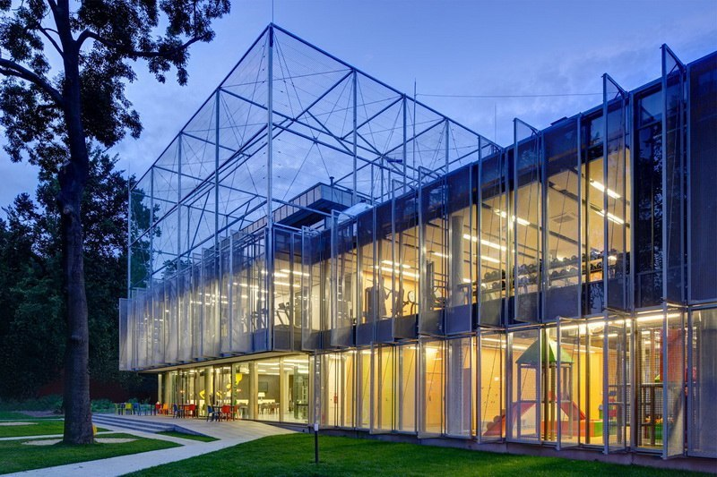Спортивно-развлекательный центр «FALA PARK» от PL Architekci.