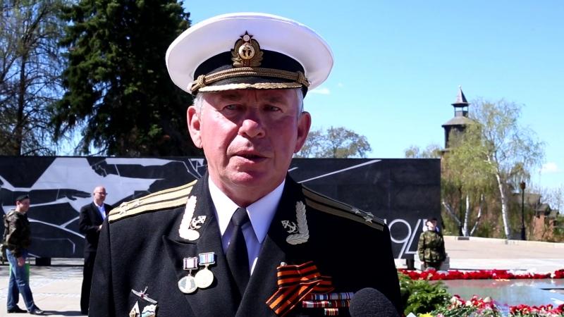 Председатель движения поддержки флота поздравил ветеранов с Днем Победы в Нижегородском кремле