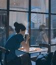 10 иллюстраций, которые пронзительно и нежно рассказывают об одиночестве в большом городе