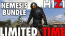 H1Z1 PS4 NEMESIS PREORDER BUNDLE IS ONLY FOR A LIMITED TIME LIMITED EDITION SKINS