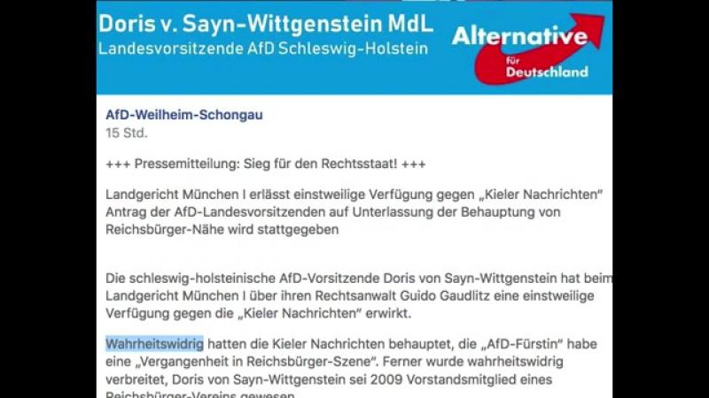 """Lügenpresse- Landgericht München I erlässt einstweilige Verfügung gegen """"Kieler Nachrichten"""""""
