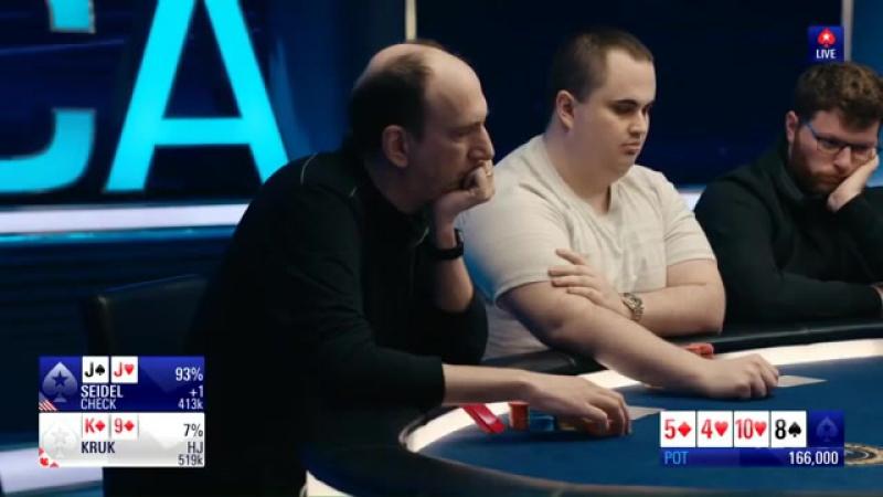 Incredible bluff against Erik Seidel on Poker Tournament $100k PCA-2018