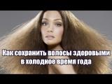 Как сохранить волосы здоровыми в холодное время года