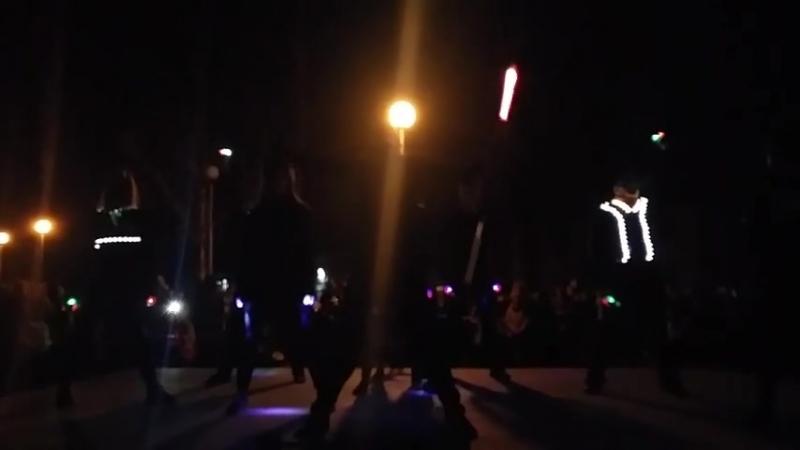 Совместный номер. Танцевальная студия GI Famila и Цирковая студия Гравитация