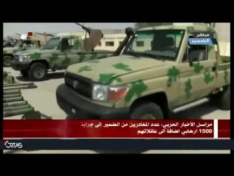 Syrian Army News reporter enters the town of conscience to comb it and clean it of mines 18.04.2018