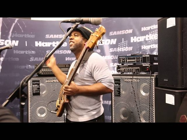 Victor Wooten NAMM 2014 Fun with a Loop Station
