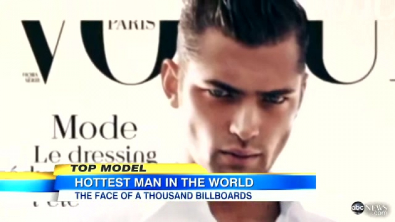Sean OPry Interview on GMA Fashion Model Called The Hottest Man in the World