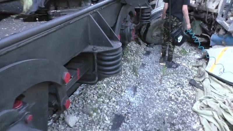 Среднеуральск Авария не безопасный переезд