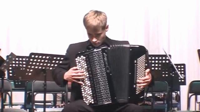 Андрей Серов. Концертный этюд для баяна.
