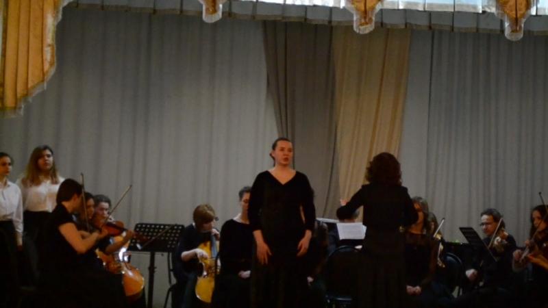 отчетный концерт :Вокального отделения stabat mater (2)