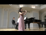 Е. Хубаи Фантазия на темы оперы Ж. Бизе Кармен исп. А. Савкина (скрипка) Н. Игумнова (фортепиано)