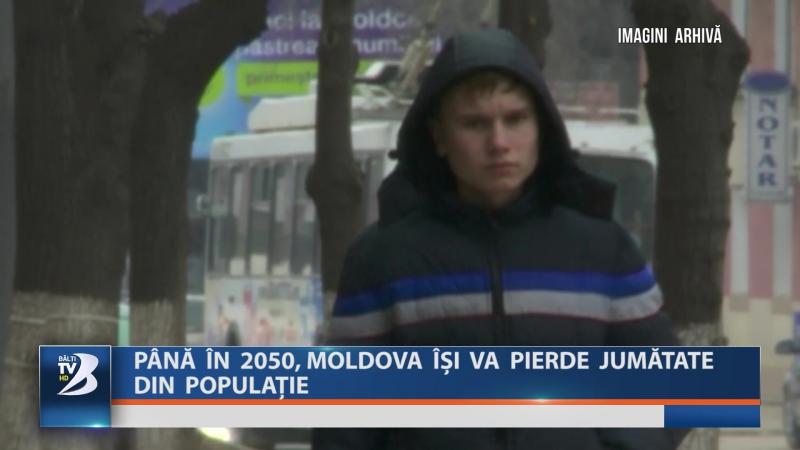 Până în 2050, Moldova își va pierde jumătate din populație