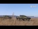 Машины огневой поддержки ZTL-09 на учениях.