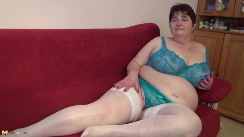 Sabine R. (EU) (50) - German big mature woman fingering herself