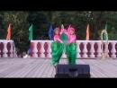 Лукьянчикова Ангелина и Сиротинина Полина. Шоу-танец Цветы
