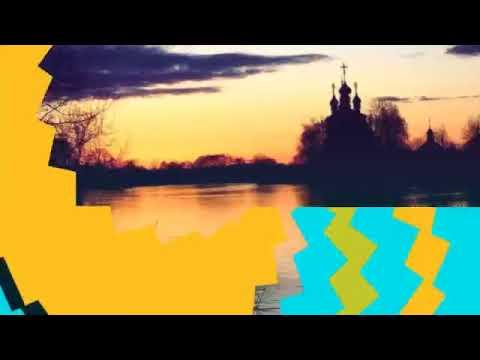 23.04.18 река Теза в селе Холуй-закат