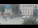 Кортеж В.В.Путина проехал по площади в Махачкале