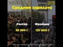 Россияне и французы платят одинаковый процент налогов 48 и 47 6 с зарплаты