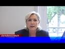 Appel de Marine Le Pen à sauver le Rassemblement National et la liberté