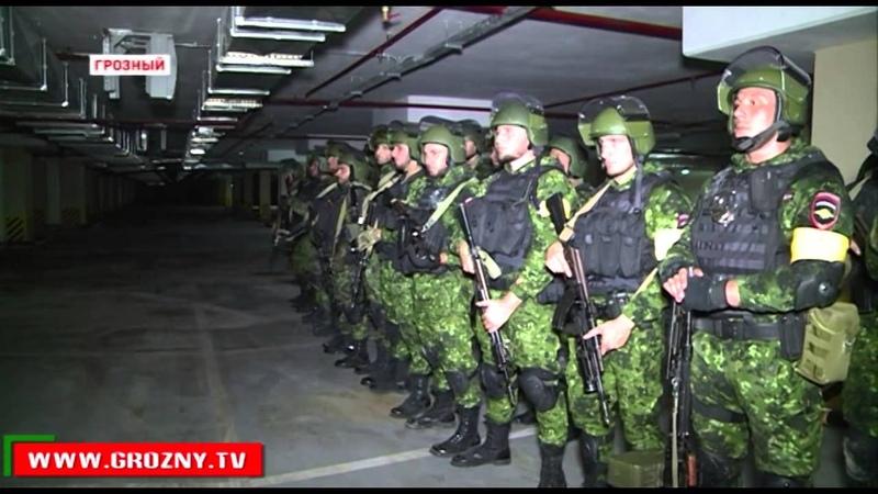 Казахский спецназ перенимает опыт чеченских коллег