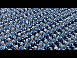 China - the largest army in the world full-hell march HD