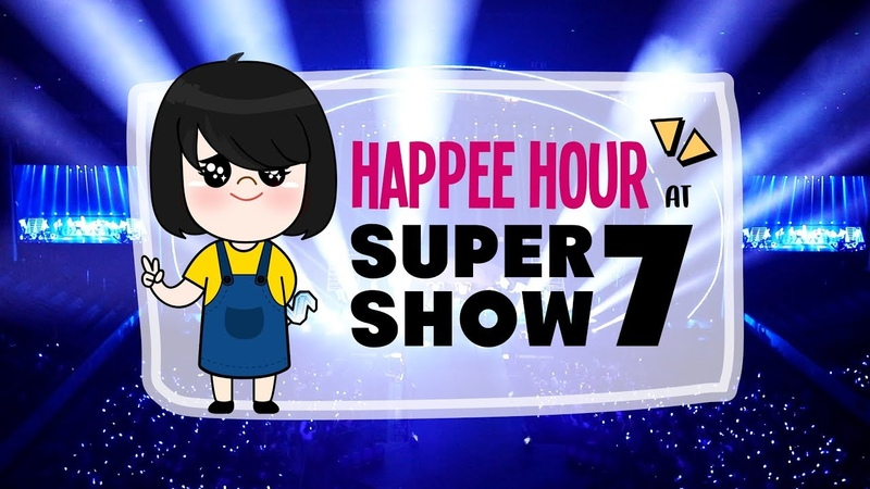Happee Hour at Super Show 7