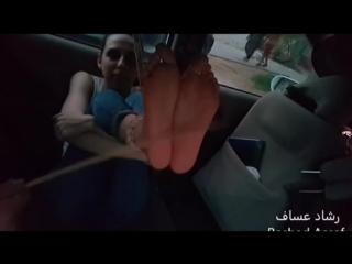 Falaka in the car