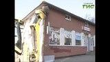 В Самаре возле больницы Пирогова сносят самовольную постройку