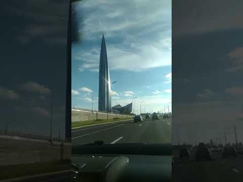 Лахта Центр Санкт Петербург июль 2018