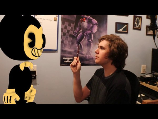 Bendy and the Ink Machine In Real Life