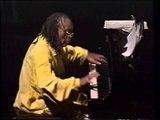 Cecil Taylor solo and Unit at the Fundacion Joan Miro in Palma de Majorca, Jan. 93