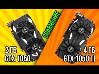 Сравнение GeForce GTX 1050 2GB и GeForce GTX 1050 Ti 4GB в 21 игрe Full HD (1920x1080)