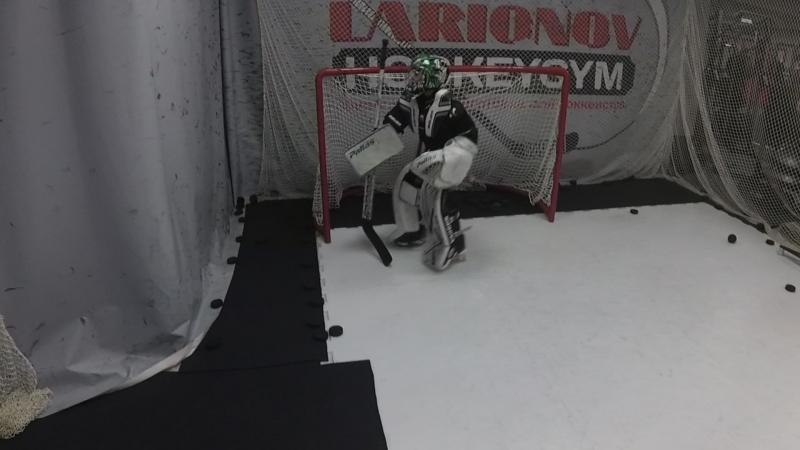Тренировки для хоккейных вратарей в LarionovHockeyGym