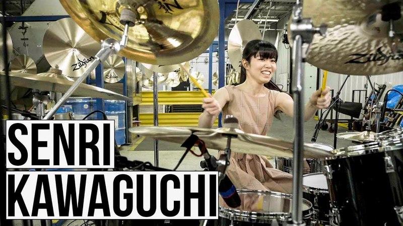 Senri Kawaguchi - Zildjian Factory Solo